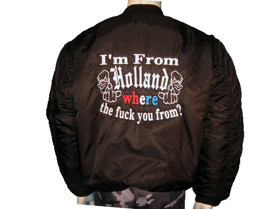 8Bomber I'm from Holland
