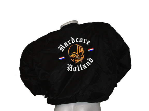 Bomber Hardcore Holland Skull