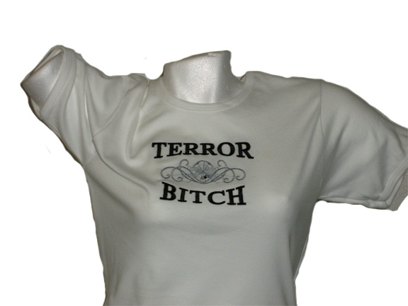 Damesshirt Terror Bitch