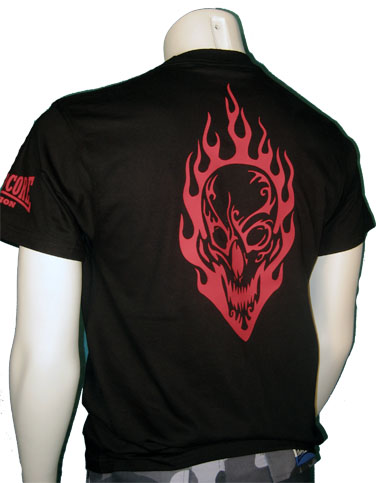 T-shirt Burning Face (RED)