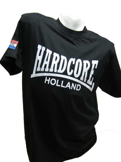 T-shirt Hardcore Holland NL Flags