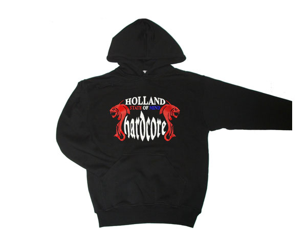 Sweater Hardcore state of Mind rood