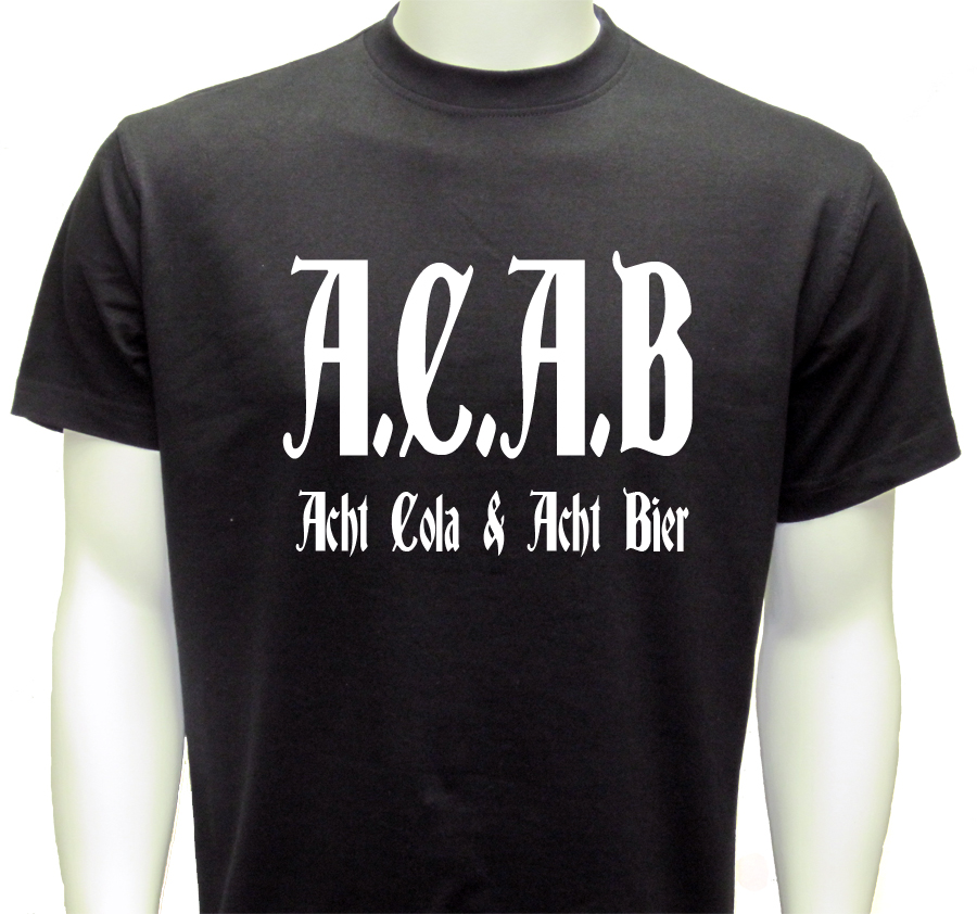 (4)T-shirt ACAB COLA