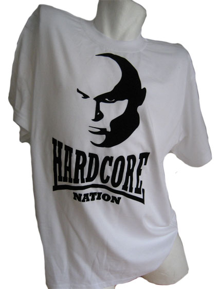T-shirt Hardcore Nation Face